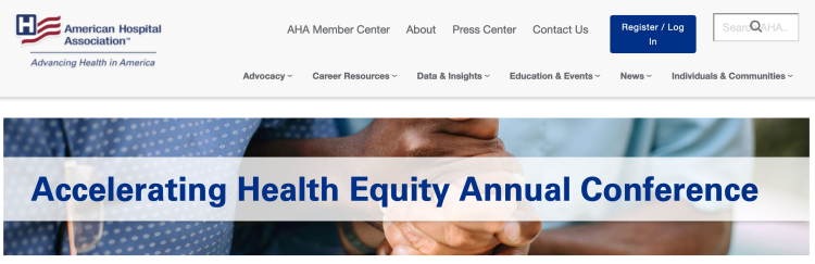 Accelerating Health Equity Annual Conference
